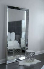 CHEAP PRICES Large New Stunning modern Crystal Glass Beaded bevelled wall mirror