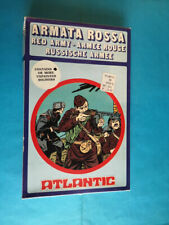 ATLANTIC 1/72 - World War II Red Army - COMPLETE BOX ON SPRUES RUSSIAN INFANTRY