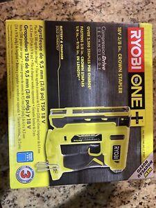 Ryobi P317 18V ONE+ Cordless Compression Drive 3/8 inch Crown Stapler