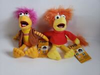 "Jim Henson Fraggle Rock Gobo & Red 10"" Plush Dolls NWT NEW"
