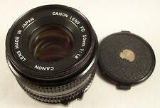 Canon Lens FD 50mm 1.8 Cannon Camera Lens