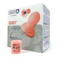 Howard Leight Quiet corded ORANGE Earplugs QD30-RC/1028457 X 5 pair travel case
