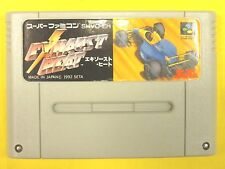 EXHAUST HEAT Nintendo Super Famicom JAPANES USED FREE SIPPING
