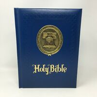 Vintage Holy Bible Bicentennial Freedom Edition 1976 King James Red Letter