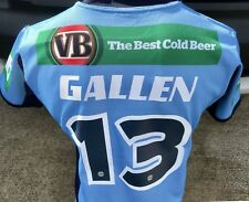 Nsw State Of Origin Player Issue Cut Paul Gallen Jersey Cronulla Sharks Qld