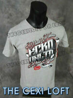 Mens MMA ECKO UNLTD Brand T-Shirt World Famous Block Style GREY Roar w/ Class