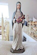 Shabby Skulptur Madonna Mutter Gottes Deko Figur 34x10x9 cm Retro Stil NEU Nr335