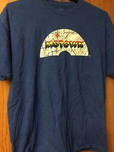 """Motown - Blue """"Motown Museum"""" Shirt.  2XL."""