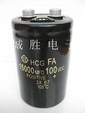 Audio Filter Aluminum Electrolytic Capacitor 100V 15000uF 105℃ 50*80mm #J2441