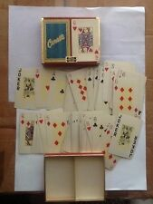 Canasta Duratone Plastic Coated Playing Cards Vintage