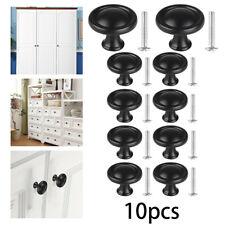 10X Kitchen Cabinets Doors Drawer Hardware Knob Handle Pull Bathroom Knobs Screw