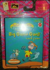 """NICKELODEON'S THE WILD THORNBERRYS """"BIG GAME GUESS"""" CARD GAME"""