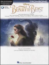 Beauty and the Beast Instrumental Play-Along for Trombone Music Book/Audio Movie