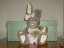 "Boyds Bears 10"" Plush Hare Rabbit Iris Rosenbunny"