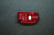 Original Battery Door Battery Cover Case For Nikon L19 With Metal Pink Red