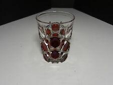 "Ohio Flint Glass Krys-Tol Hexagon Tumbler Ruby EAPG Clear Crystal 4"" T ca1905-07"
