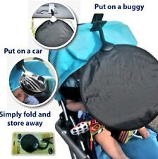 Sun Shade Parasol UPF50+ My Buggy Buddy fits car & buggy Bugaboo icandy fits any