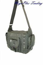 Ahmik Casual Canvas Cross Body Shoulder Messenger Bag B3109 Brown