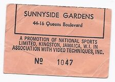 Joe Frazier George Foreman Boxing Ticket Stub January 22, 1973
