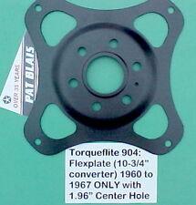 Torqueflite 904 Slant 6 FLEXPLATE '60-7 Crankshaft ONLY