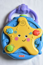Fisher-PRICE OCEAN WONDERS Star Light & Sound Ninna Nanna PROIETTORE Soother giocattolo