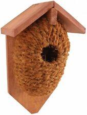 Nestbeutel pour la Wren Noix de Coco Incubateur Nichoir à Oiseaux 15x10x26cm