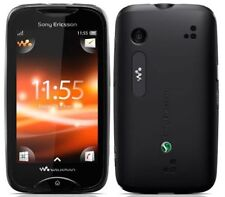 Noir Sony Ericsson Walkman WT13i-débloqué avec nouvelle maison chargar et garantie