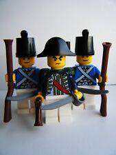 NUOVO COSTRUZIONI LEGO Pirata Imperial Blue Coat SOLDATO MINIFIGURES & ARMI fatta di LEGO
