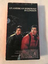 An American Werewolf In London, David Naughton, John Woodvine, Vhs #2