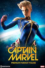 Sideshow Marvel Captain Marvel Premium Format Figure - Carol Danvers, Avengers