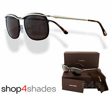 Tom Ford Marcello lunettes de soleil gold _ noir _ black _ Roviex brown FT 0419 50J 53