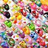 10pcs Wholesale Mixed Bulk Cartoon Children/Kids Resin Lucite Rings Jewelry UK