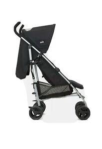 Brand New JOIE NITRO Foldable Stroller Pushchair Buggy Coal Black