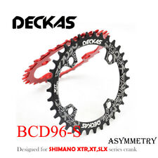 Deckas Narrow Wide Chainring 96BCD-S Black 32T for  XTR,XT,SLX M7000/8000/9000