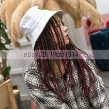 Dreadlocks Hair Hats for Women Medium Long Hair Weft Synthetic Natural Cap Wigs