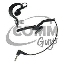 TCG Brand 3.5mm Listen Only Earhook Earpiece Earphone for Speaker Microphone