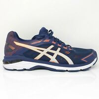 Asics Mens GT 2000 7 1011A158 Indigo Blue Running Shoes Lace Up Low Top Size 14