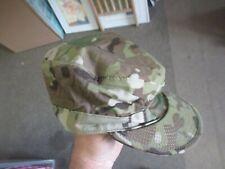 Army Military Camo Patrol Cap Hat Size 7