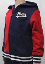 Children POLO Ralph Lauren Red Navy Blue Jacket Hoodie NWT