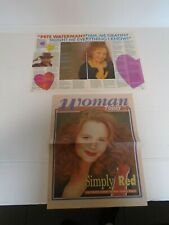 SONIA EVANS - CLIPPINGS - MAGAZINES & NEWSPAPER - 1989 & 1994