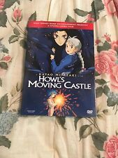Howl's Moving Castle (DVD, 2006, 2-Disc Set) With Slip Cover NEW