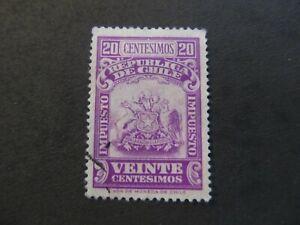 CHILE - LIQUIDATION STOCK - EXCELENT OLD STAMP - 3375/25