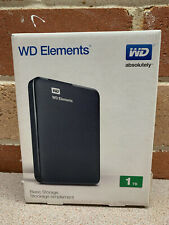 Genuine WD Elements Portable Hard Drive 1TB USB 3.0 IN BOX