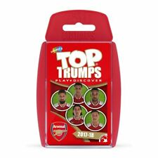 Arsenal FC Top TRUMPS Official Football Merchandise Card Games 2 Players