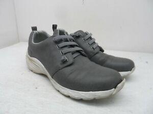 Nurse Mates Women's Align Velocity Lace-Up Slip-Resistant Shoes Grey Size 8.5M