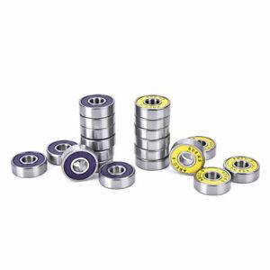ABEC 9 Stainless Steel BEARINGS Roller Skate Scooter Skateboard Wheel