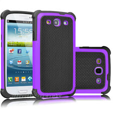 Hybrid Rubber Shockproof Hard Case Cover for Samsung Galaxy S3 i9300