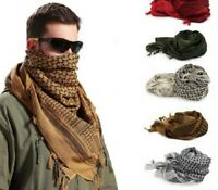 Army Shemagh Military Scarf Tactical Patrol Shermag Keffiyeh SEA GREEN Arafat