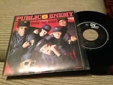 "PUBLIC ENEMY SPANISH 7"" SINGLE SPAIN BRING THE NOISE / SOPHISTICATED HIP HOP"