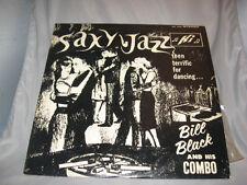 Bill Black & His Combo Saxy Jazz HI SHL 32002 Stereo LP Cool Cover